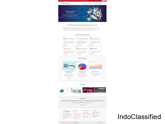 Dynamic/manageable website at Rs. 14999