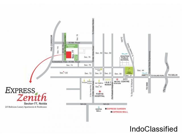 Express Zenith Floor Plan