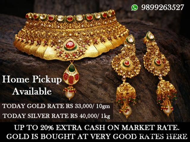 Sell your scrap Gold today with us