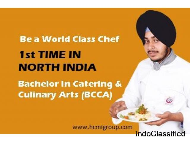Admission Open in Bachelors in Catering & Culinary Arts