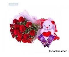 Send Same Day and Midnight Flowers to Kolkata - OyeGifts