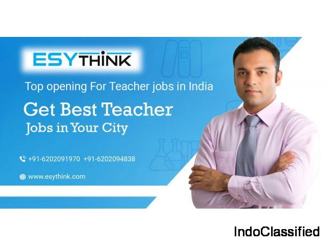 Get Latest Opening for Teacher Jobs
