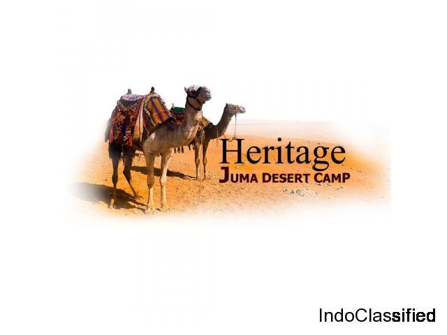 Desert Camp In Jaisalmer : Heritage Juma Desert Camp