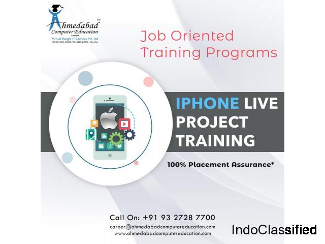 GTU Live Project Training in iOS : Ahmedabad Computer Education