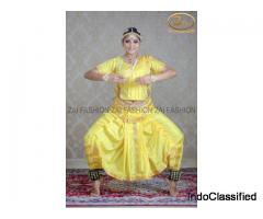 Top Bharatnatyam costumes in India