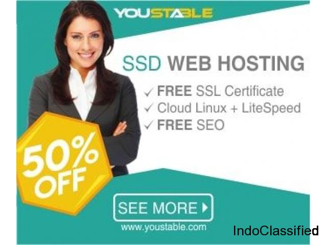Get your web hosting at just $0..01/M*