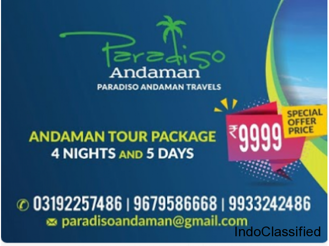 Paradiso Andaman - Andaman & Nicobar Tour Packages