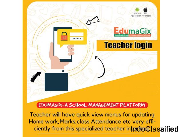 School management software by edumagix