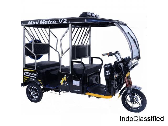 Electric rickshaw Manufactures
