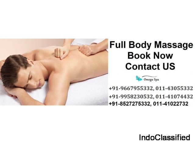 Get Best Full Body Massage In South Delhi With Omega Spa