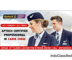 JOB ORIENTED TRAINING FOR CABIN CREW OR AIR HOSTESS BY APTECH NOIDA SECTOR-2