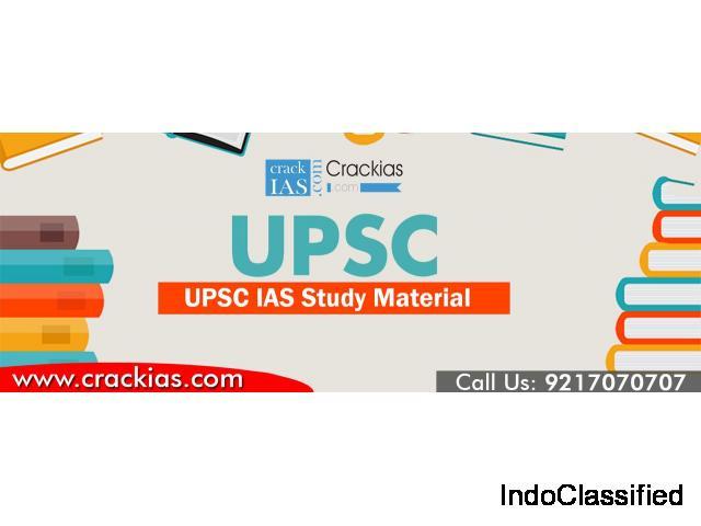 India's No.1 IAS Study Material Provider | UPSC Study Material | CrackIAS
