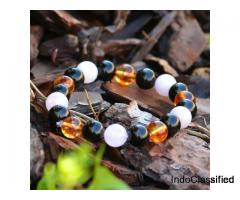 Handmade Healing Crystal Bracelets from Crystal Agate