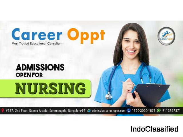 Nursing admission in Bangalore Colleges