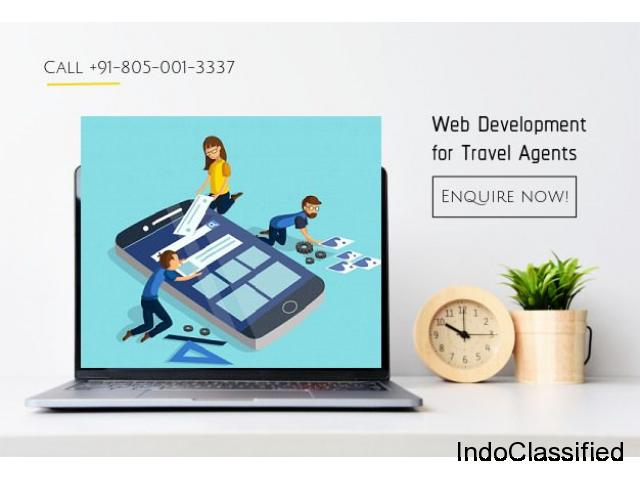 Website development for travel agents