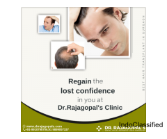 Dr. RajaGopal's Clinic Best For Hair Transplant In Gurgaon.