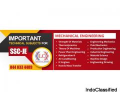 Best coaching classes for ssc je drdo dmrc net civil mechanical in delhi