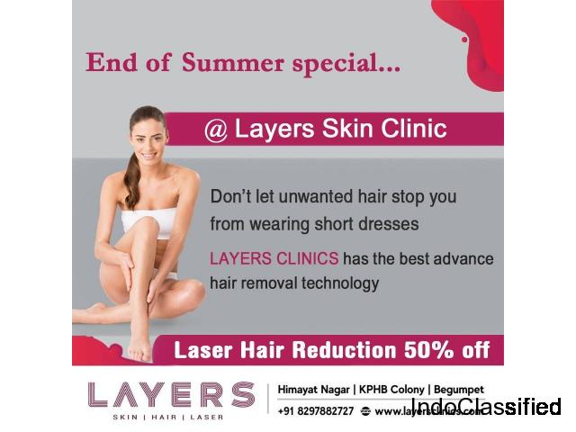 Permanant Hair Removal | Best Laser Hair Removal Treatment In Hyderabad