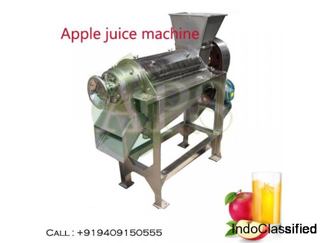 Juice making machinery