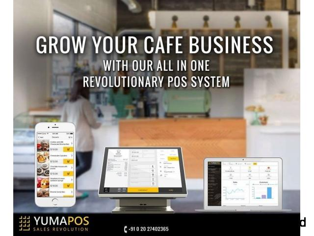 The cafe POS bakery and system for more efficiency and loyalty.