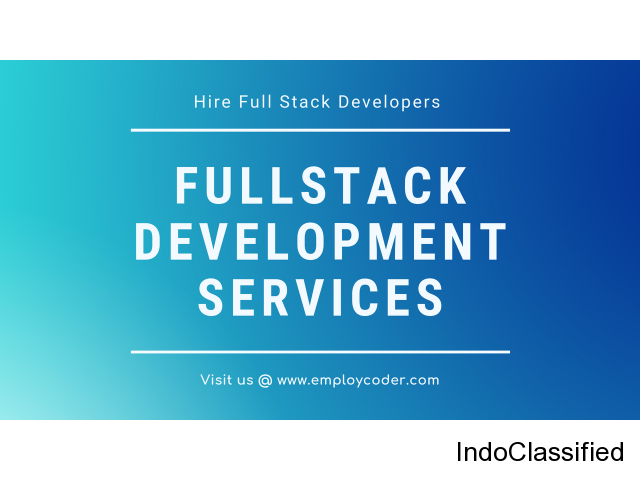 Want to Hire Full Stack Developers? Contact Us