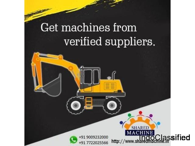 Construction machinery & equipment available on Rent/Resale
