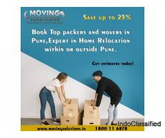 Book Top packers and movers in Pune and save up to 25%.