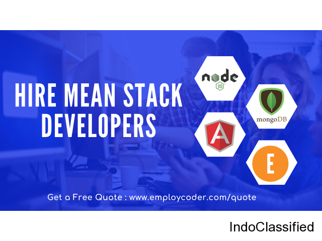 Looking to Hire MEAN Stack Developers for your Project? Contact Us!