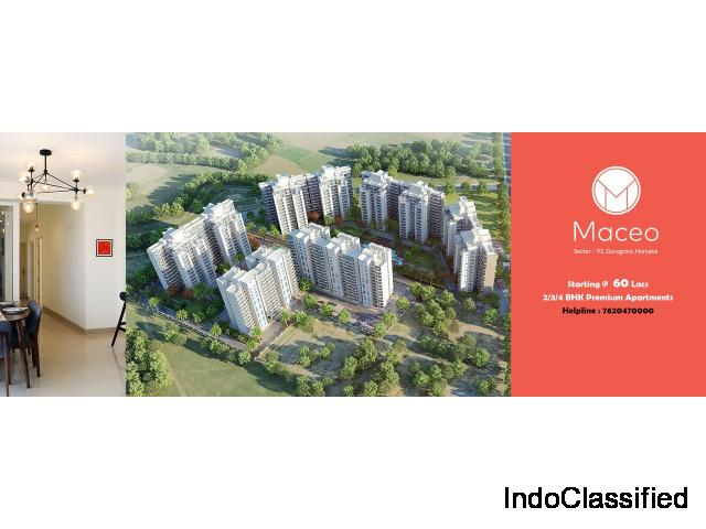 Anant Raj Maceo Projects Sector 91 Gurgaon, Call@8970427042