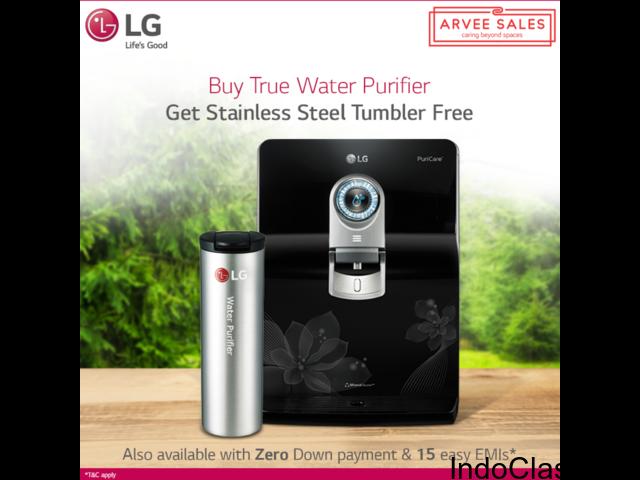 Buy LG WW120EP Water Purifier at Arvee Sales 0% EMI