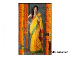 Exclusive Bengal sarees paarijaatham collection online