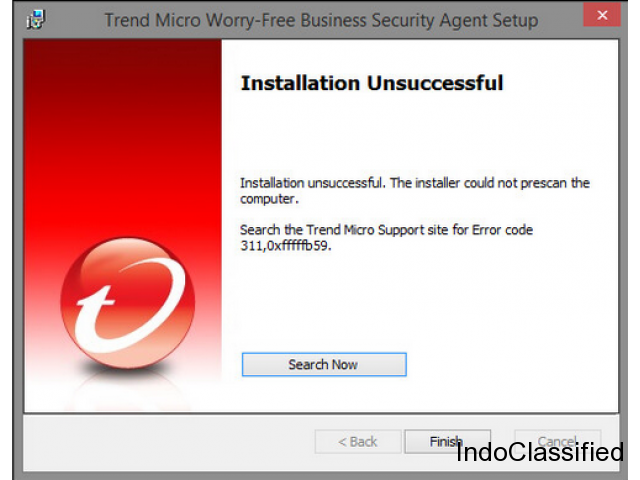 How you can Fix Trend Micro Ant-virus Error Code 331 0x1f4