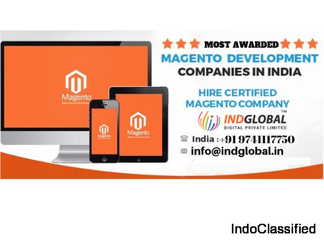 Best Magento E-commerce Development Company in Bangalore, India