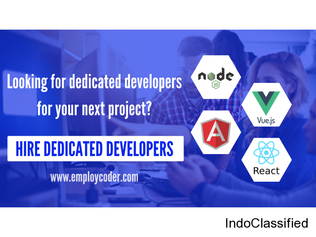 Looking to Hire Dedicated Developers for your Project? Contact Us!