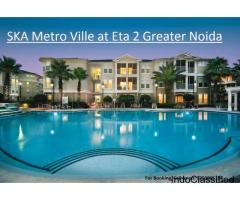 Apartments for sale in Ska Metro ville at Eta 2 Greater Noida