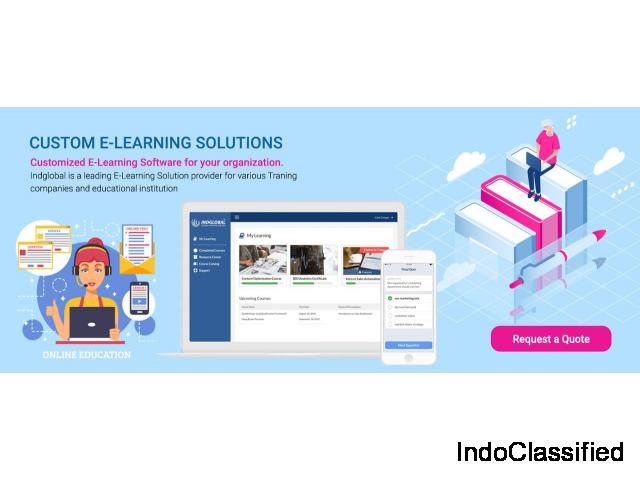 Indglobal- Best E-learning software company in bangalore, India