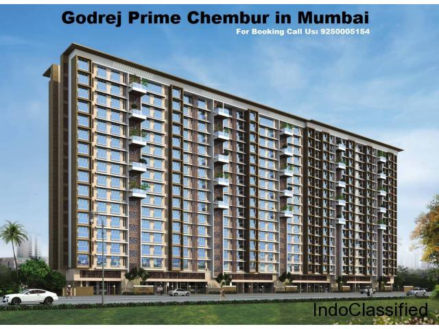 Book your luxury flats with Godrej Prime Chembur in Mumbai