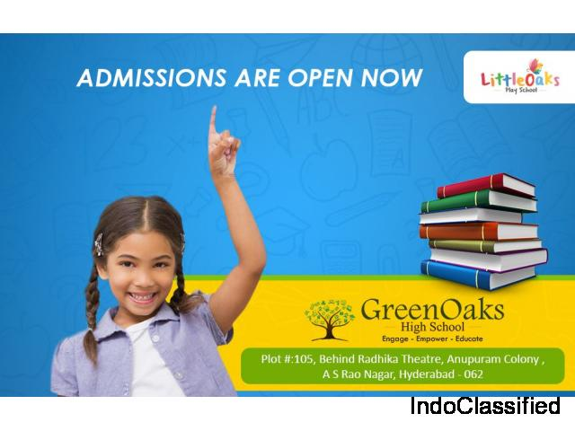 GreenOaks High School Admissions are in Progress – GreenOaks