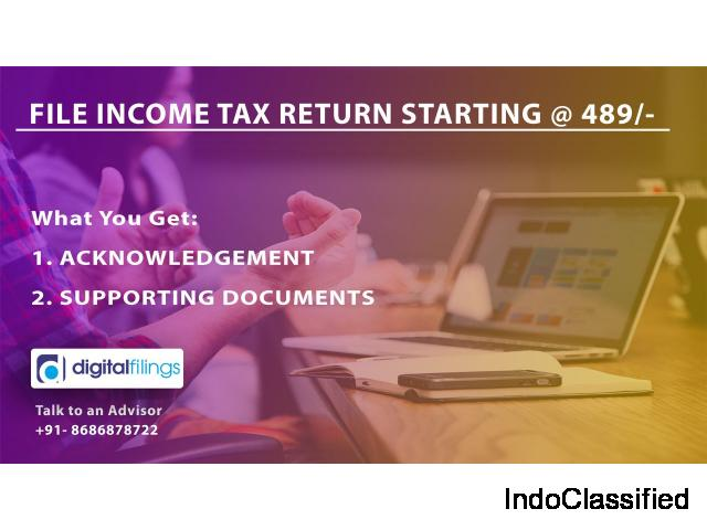 Online Income Tax Return | ITR Form 1