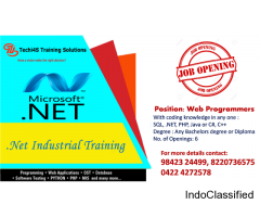 Dot Net Industrial Training in Coimbatore