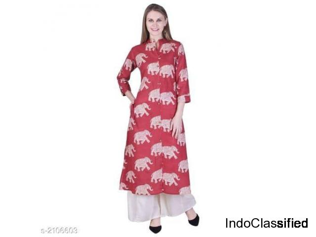 Yashvi Adorable Cotton Printed Women's Kurtis