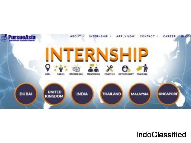 Pursueasia international intership program