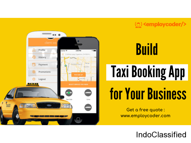 Want to Build Taxi Booking App for your Business? Get a Free Quote Now