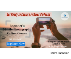 Beginner's Mobile Photography Online Course