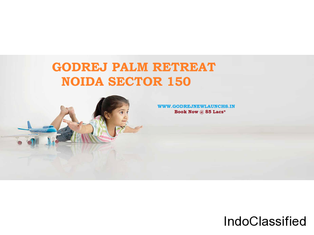 Book Flats with Godrej Palm Retreat in Noida Sector 150 |2, 3, 4 BHK Starting @85 lacs*‎