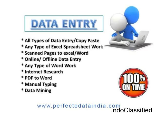 Data Entry Outsourcing Company in Delhi