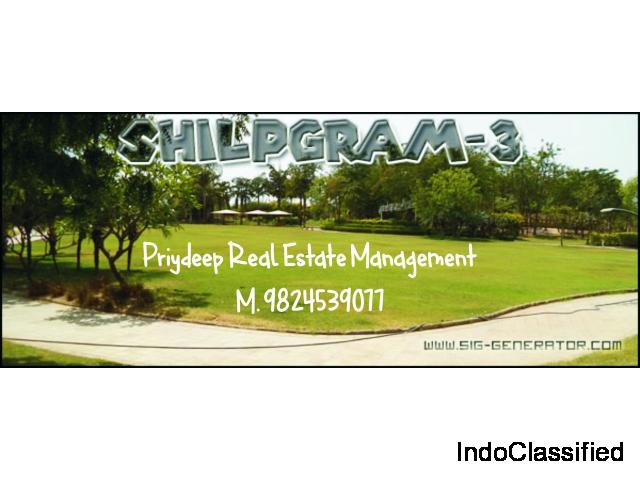 shilpgram 3 prime location 1160 sq.yard  bungalow for sale M. 9824539077