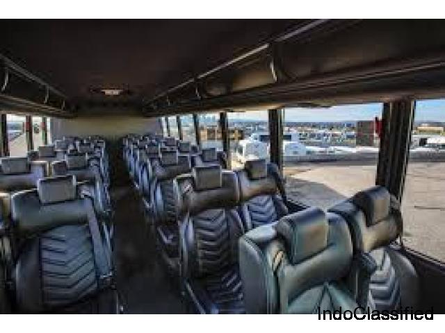 Standard and comfortable trip by Charter Bus service Calgary