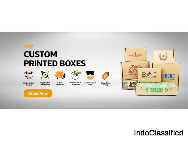 Custom Printed Boxes at U-Pack