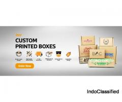 Custom Printed Boxes at U-Pack